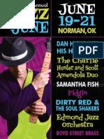 Jazz in June Festival Program