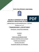 Transmisores y Receptores Reporte
