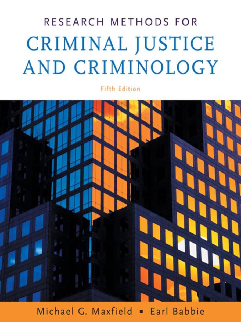 Research Methods For Cj | Survey Methodology | Sampling (Statistics)
