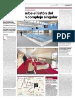 20150115 El Periódico _ L'Hospitalet Sube El Listón Del Gornal Con Un Complejo Singular