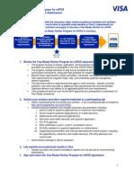 Visa Ready Partner Program Application Process Instructions