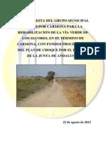 Propuesta Vía Verde de Los Alcores
