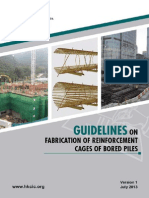Guidelines on Fabrication of Reinforcement Cages of Bored Piles e