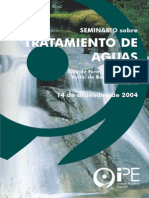 Seminario Tratamiento de Aguas 2004 Folleto