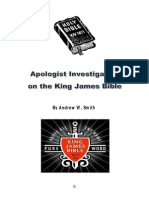 Apologist Investigation on the KJB by AWS