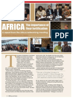 The importance of flour fortification in Africa