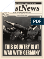 first news ww2 special edition