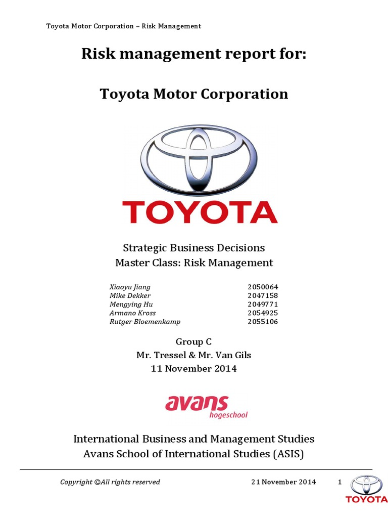 strategic alternatives for toyota Essays - largest database of quality sample essays and research papers on strategic alternatives for toyota.