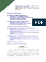 Legea 76 Din 2002 Actualizata Ianuarie 2015