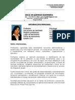 Yessica m. Garrido Barrera Profesional en Psicología