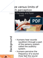 Pinna Versus Pitch Perception