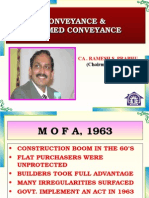 Conveyance & Deemed Conveyance of Land or Property