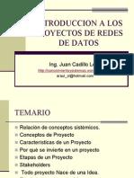 Introducción a los Proyecto de Redes de Datos