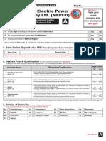 MEPCO Technical Form A