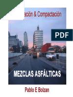 Colocacion Mezclas Asfalticas