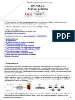 IPTABLES Manual