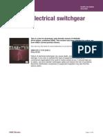 Hsg230 Keeping Electrical Switchgear Safe