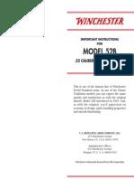 Winchester Model52b Manual