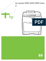 HP 3600DN parts catalogue