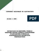 Prescriptie Energetica PE 030-1-1999