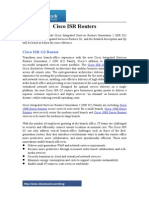 Cisco ISR Routers