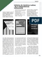Historia Economica de América Latina