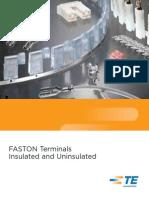 Terminal Faston Te