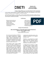 Steven Greer - CE5-CSETI - 20. CSETI June 1998 Newsletter, 24P