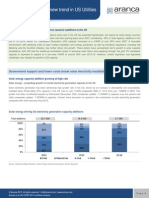 Solar Energy Installation Outlook US | Power Sector | Aranca Articles and Publications