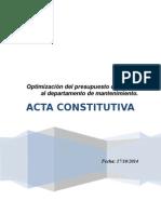 Acta Constitutiva Ejem