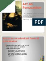 week 2 - art as persuasion