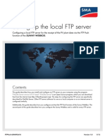 FTP server filezilla