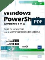 Windows PowerShell (v1 y 2) - Guía de Referencia Para La Administración Del Sistema.docx