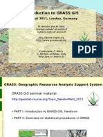 GRASS Geostat Landau