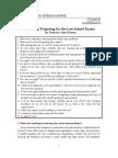 FAQ Preparing for the Law School Exams