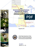 Keystone XL Project - Environmental Impact Statement