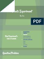 plants experiment