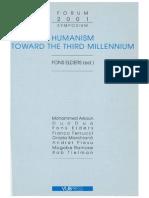 Elders, Fons Humanism Toward the Third Millennium
