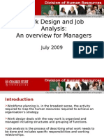 Workdesign Jobanalysis Managers