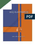 Güç Elektroniği - Mersin Üniversitesi Ders Notları