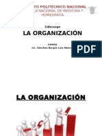 La Organización y el liderazgo