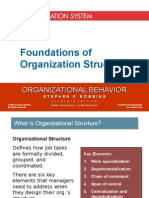 Chapter 15 Foundations of Organization Structure