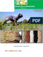 14th January,2015 Daily Global Rice E_Newsletter by Riceplus Magazine