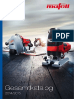 Mafell Katalog 2014-2015