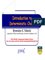 Deterministic Chaos