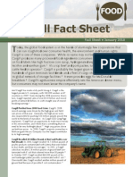 Cargill Fact Sheet