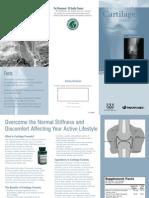 Cartilage Formula Trifold Brochure