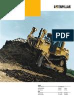 bulldozer cat D 8 R