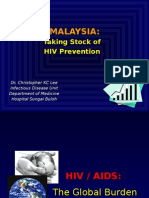 Dr Chris Lee HIV Prevention