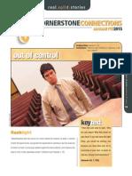 1st Quarter 2015 Lesson 3 Cornerstone Connections